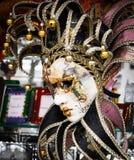 Den Venedig karnevalet maskerar royaltyfri foto