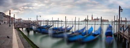 Venedig panorama Royaltyfri Foto