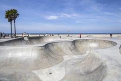 Den Venedig strandskridskon parkerar Royaltyfri Fotografi