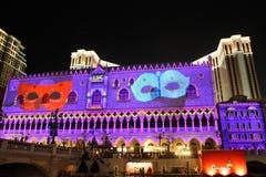 Den Venetian Carnevalen 2013 Arkivbilder