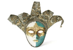 Den Venetian karnevalet maskerar arkivbild