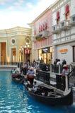 Den Venetian kasinot för semesterorthotell i Las Vegas Arkivfoto