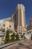 Den Venetian kasinot i dagsljus i Las Vegas, NV på Juni 05, 201 Royaltyfria Foton