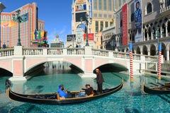 Den Venetian Las Vegas, Las Vegas, NV Arkivfoto