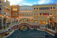 Den Venetian Las Vegas, Las Vegas, NV, USA royaltyfri bild