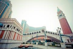 Den venetian Macao Arkivbild