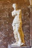 Den Venus de Milo statyn Royaltyfria Bilder