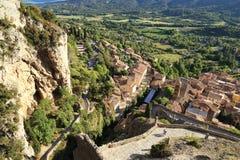 Den Verdon naturreserven, Provence, Frankrike Arkivfoton
