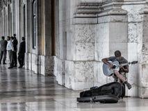 In den vergangenen Jahren hat die portugiesische Wirtschaft eine tiefe Rezession und eine steigende Arbeitslosigkeit erlitten Lizenzfreie Stockbilder