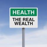 Den verkliga rikedomen Arkivfoto