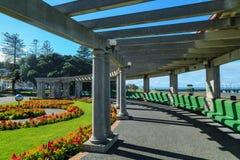 Den `-Veronica Sunbay `en i Marine Parade Park, Napier, Nya Zeeland royaltyfria bilder