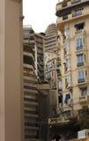 Den very lyxiga staden av Monaco i Frankrike Royaltyfria Foton