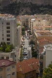 Den very lyxiga staden av Monaco i Frankrike Arkivfoto