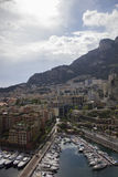 Den very lyxiga staden av Monaco i Frankrike Arkivfoton