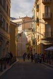 Den very lyxiga staden av Monaco i Frankrike Arkivbilder