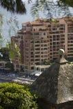 Den very lyxiga staden av Monaco i Frankrike Royaltyfria Bilder