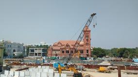 Den Victoria korridoren parkerar staden chennai Fotografering för Bildbyråer