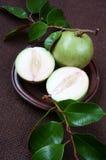 Den Vietnam gårdsprodukten, mjölkar frukt, stjärnaäpple Royaltyfri Bild