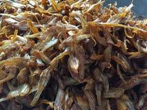 Den vietnamesiska kokkonsten: skaldjur - torkad fisk Royaltyfria Bilder