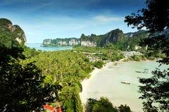 Railay strandkrabi thailand royaltyfri foto