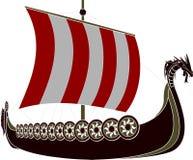 Viking ship arkivfoto