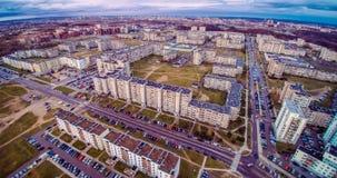 Den Vilnius antennen beskådar Royaltyfri Foto