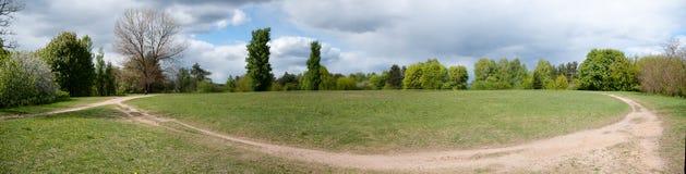 Den Vilnius naturen och parkerar Arkivbild