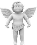 Den vita ängeln Royaltyfri Fotografi