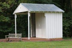 Den vita kabinen Royaltyfria Bilder