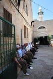 Den vita moskén i Nazareth Israel Royaltyfri Bild