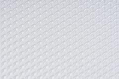 Den vita själven som gjordes papper, tryckte på arktexturbakgrund Utföra i relief snöra åt modellen arkivbilder