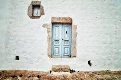 Den vita väggen Royaltyfri Fotografi