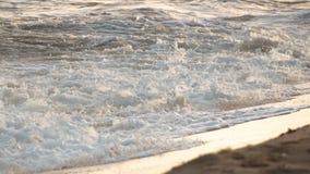 Den vita vågen för strom är kommande royaltyfri foto