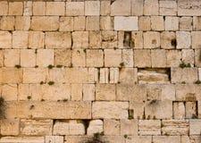 Den västra väggen Arkivfoto