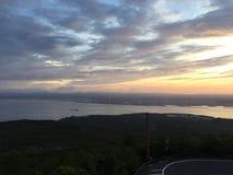 den vulkaniska Japan sakura sakurashimamonteringen kunde Arkivfoton