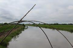 Den Waisel floden av manipur Arkivfoto