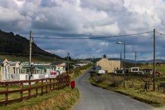 Den walesiska husvagnen parkerar royaltyfri foto