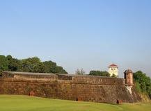 Den Walled staden Royaltyfri Foto