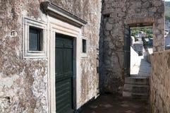 Den Walled staden av Dubrovnic i Kroatien Europa Dubrovnik ge någon ett smeknamn `-pärlan av Adriatiska havet Royaltyfria Bilder