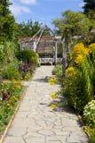 Den Walled trädgården i Brockwell parkerar, Brixton. Royaltyfria Bilder