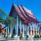 Den Wat Chalong templet royaltyfri fotografi