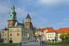 Den Wawel slotten Arkivbilder