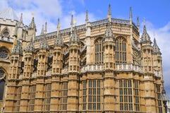 Den Westminster abbeyen Arkivbilder