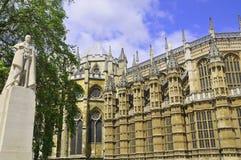 Den Westminster abbeyen Royaltyfria Foton