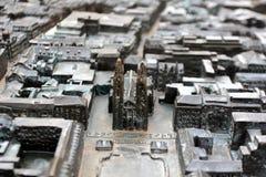 Den Wiesbaden staden kartlägger Royaltyfri Bild