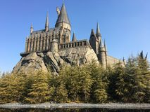 Den wizarding världen av Harry Potter, universell studio Japan Royaltyfria Bilder
