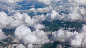 In den Wolken stock video