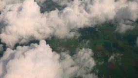 In den Wolken stock footage