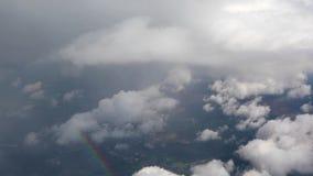 In den Wolken stock video footage