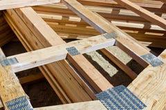 Den Wood ramen spikar plattan arkivfoto